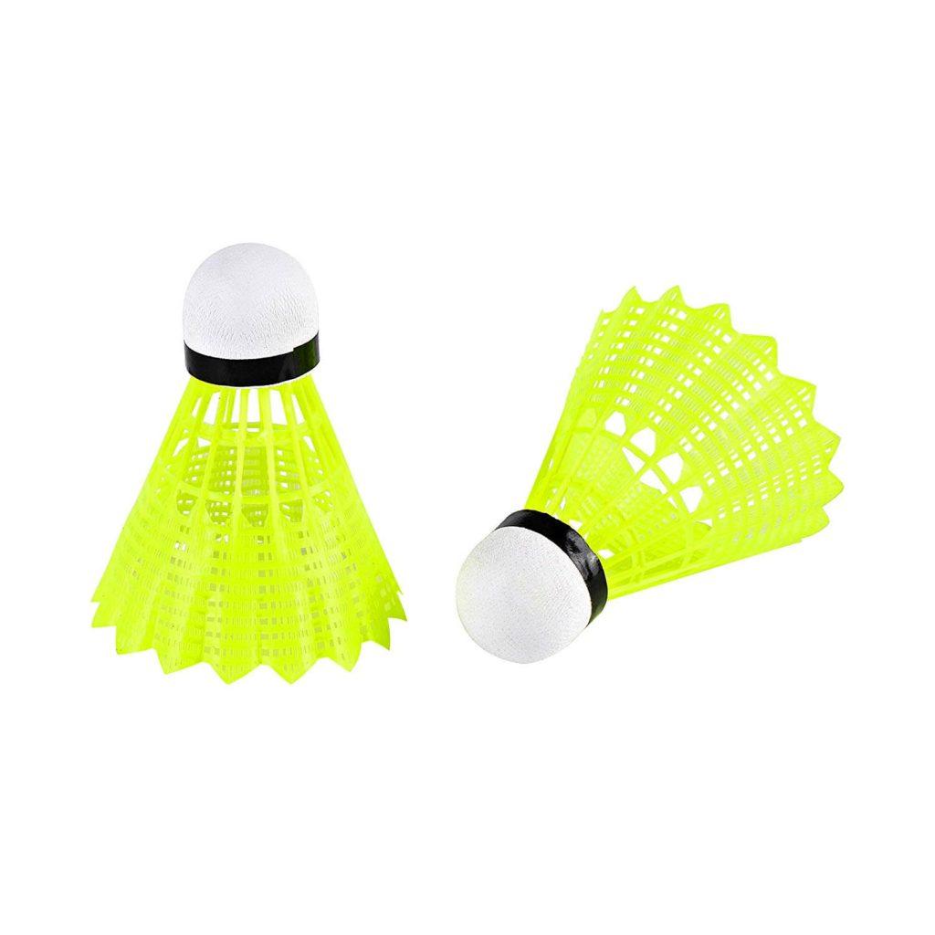 senston A7 12 Piezas Estabilidad Volantes de B/ádminton Juego de Plumas Badminton White Duck Badminton Ball Indoor Outdoor Entrenamiento Deportes Badminton
